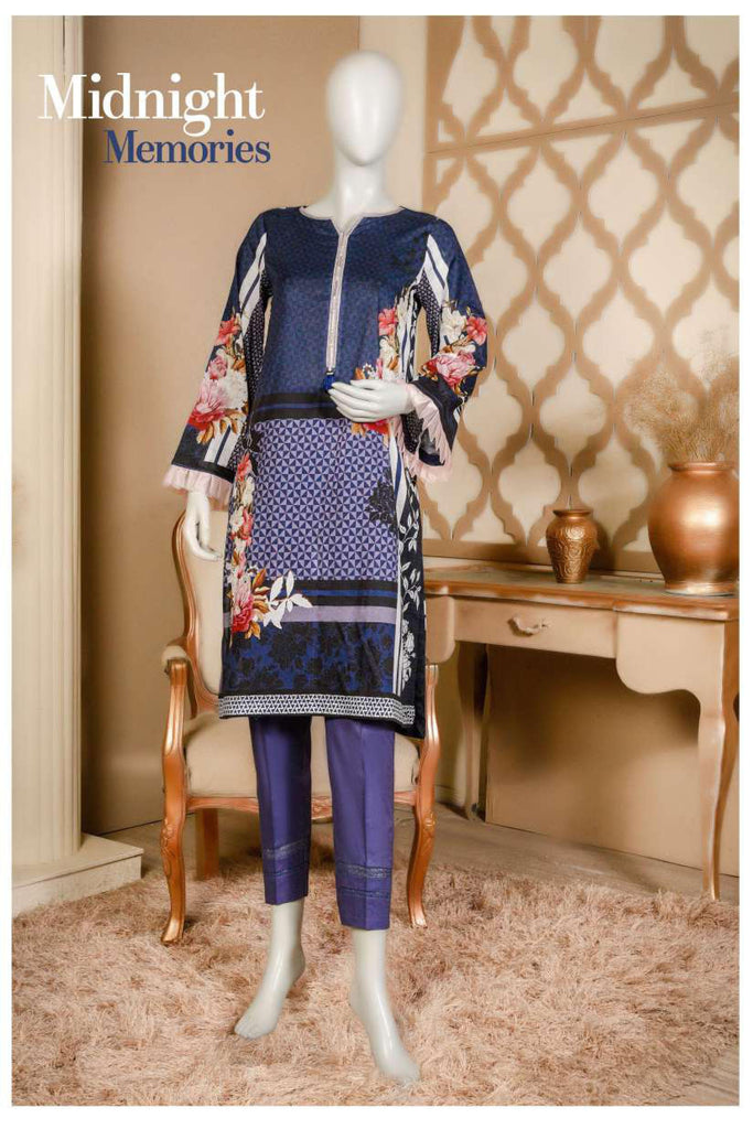 Aansa by Owais Gujrati Summer Collection 2019 – 7A - Midnight Memories