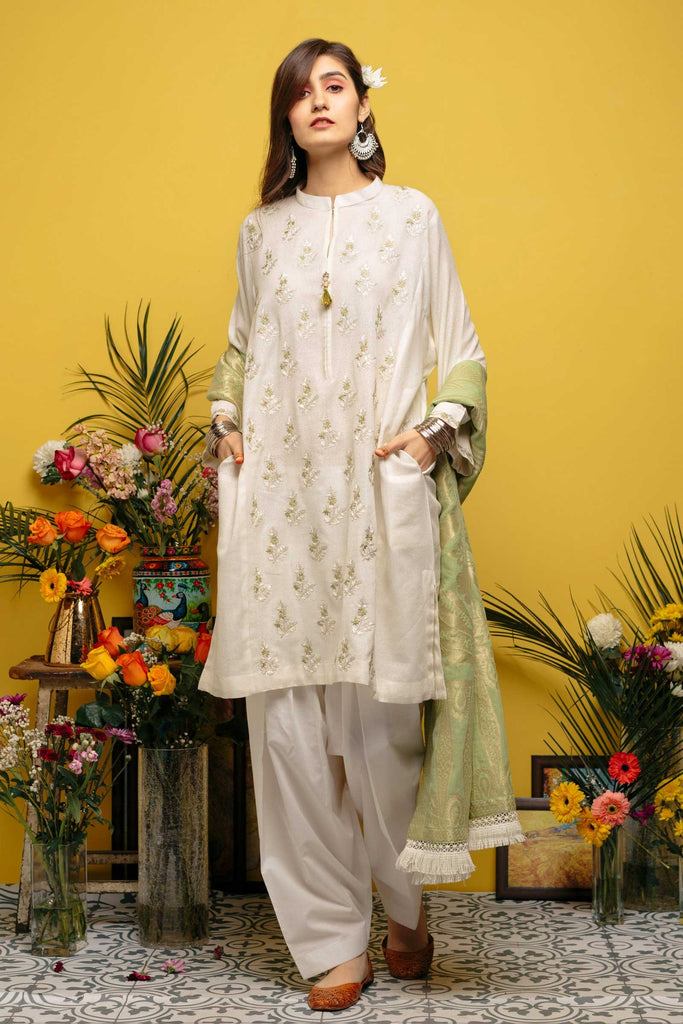 Zara Shahjahan Spring/Summer Lawn Collection 2018 – Punjab Vol.2 - 1138