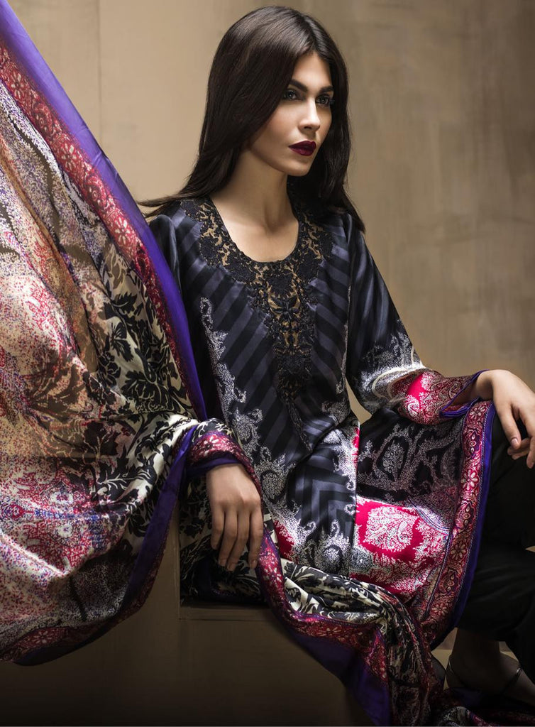1A - Sana Safinaz Silk Collection 2015 - YourLibaas