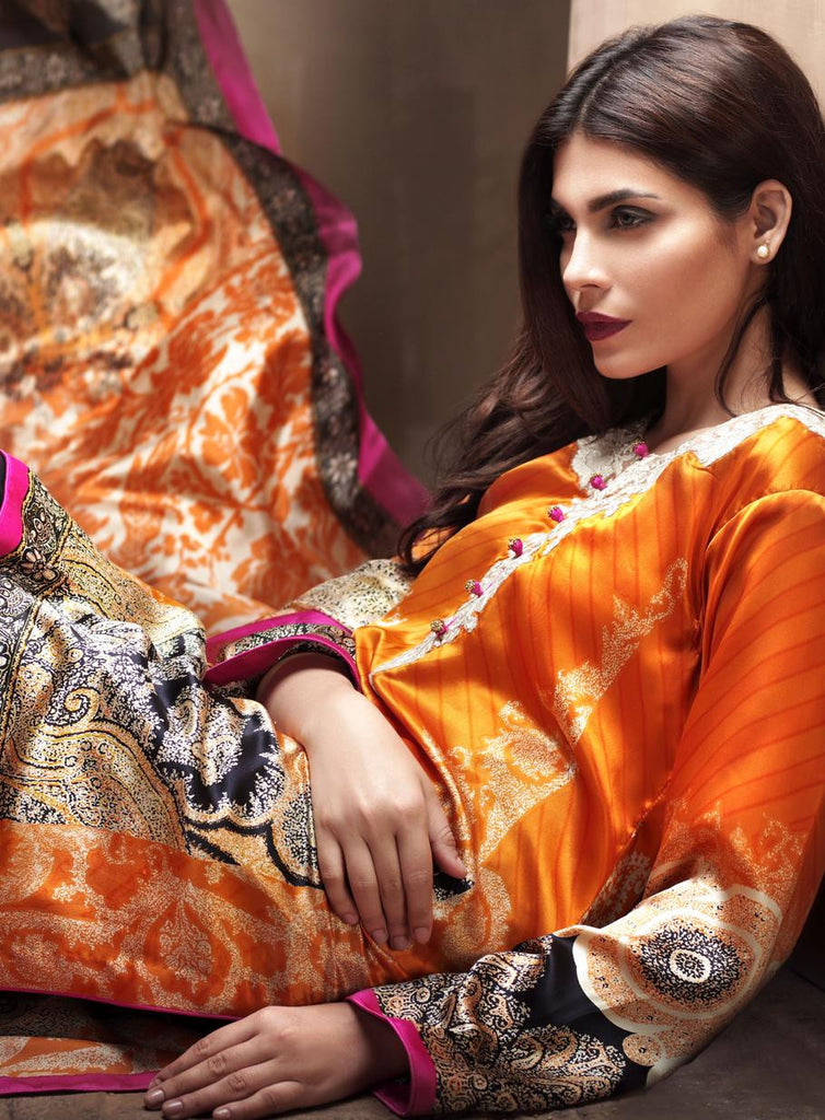 1B - Sana Safinaz Silk Collection 2015 - YourLibaas
