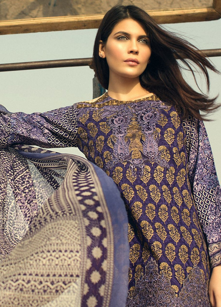 Sana Safinaz Spring/Summer Lawn Collection 2016 – 01B - YourLibaas  - 1