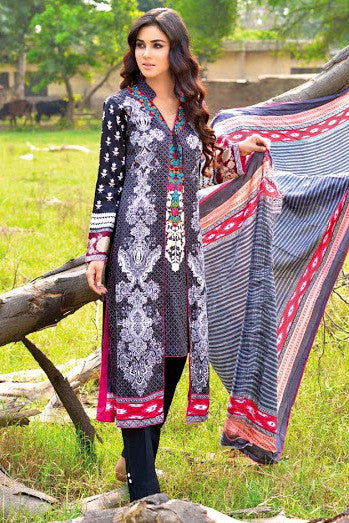Noor Jahan Linen Collection - 01 - YourLibaas  - 1