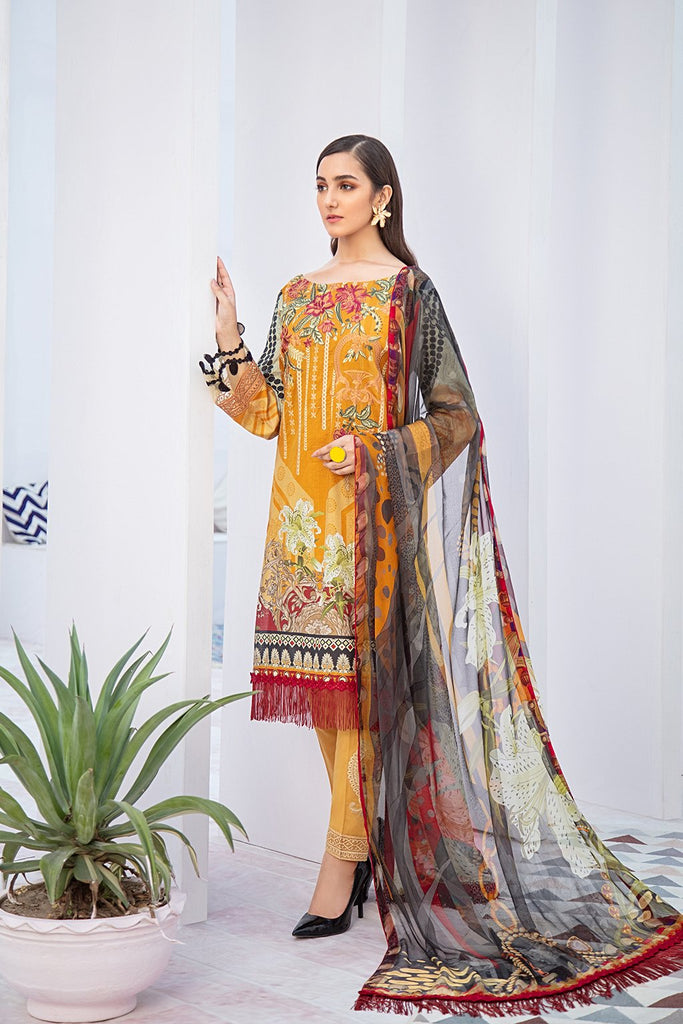 Ramsha Chevron Lawn Collection 2020 – C-311