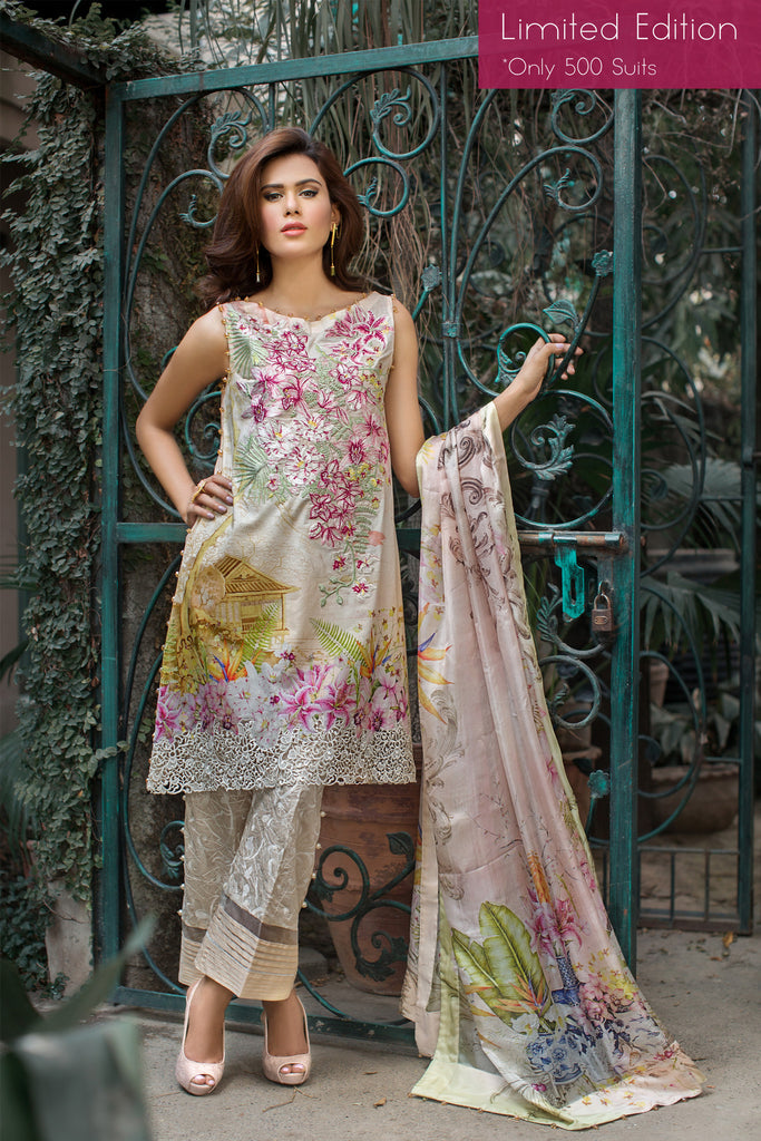 Rungrez Festive Lawn Collection 2016 – L' Orient | Limited Edition - YourLibaas  - 1