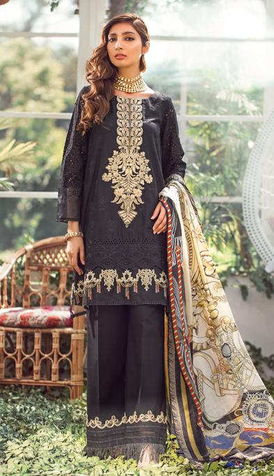 Elaf Luxury Lawn Collection 2020 – ELL-02