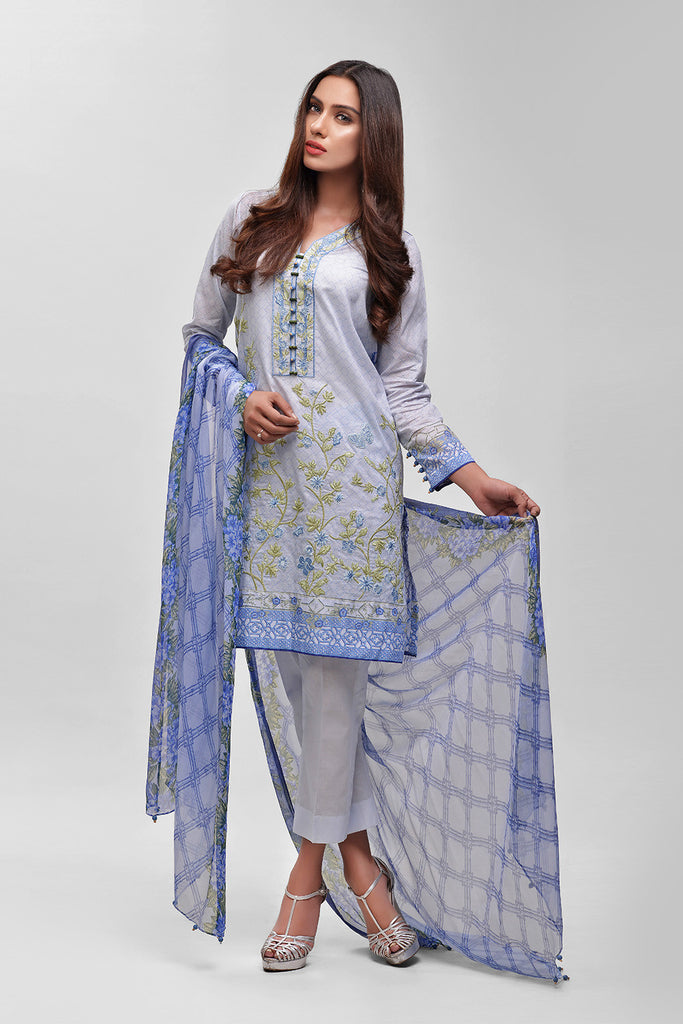 AUJ Lawn Collection 2016 Vol 1 – Design 2A - YourLibaas  - 1
