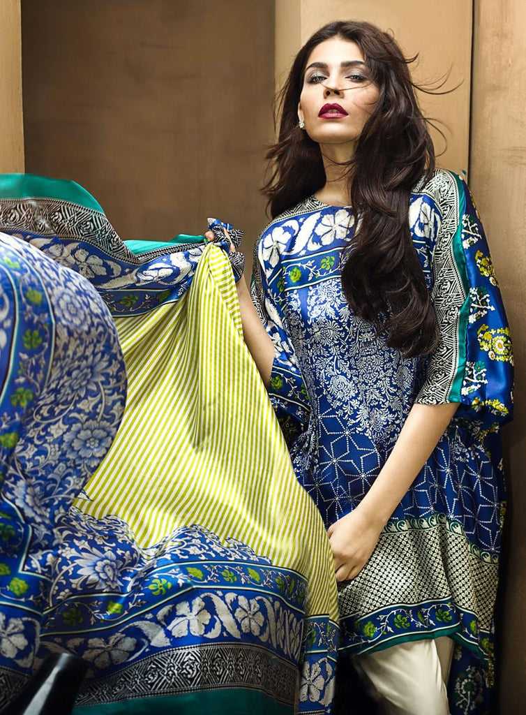 2B - Sana Safinaz Silk Collection 2015 - YourLibaas