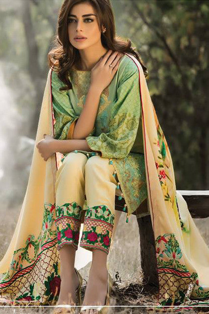 Wintry Breeze by Al Zohaib 2016 – Design 02A - YourLibaas  - 1