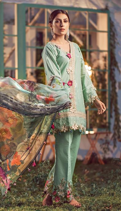 Elaf Luxury Lawn Collection 2020 – ELL-03
