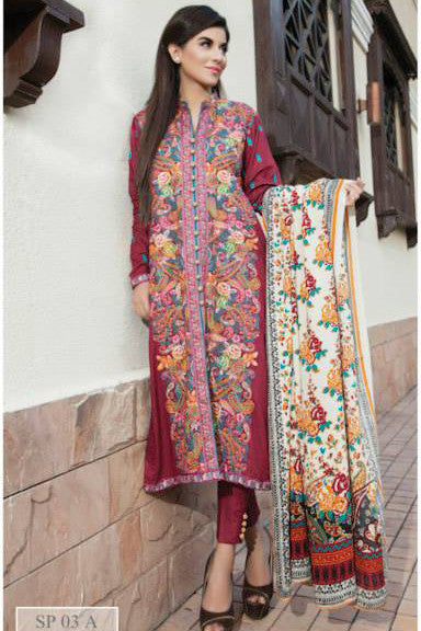 Charizma Nation Linen Collection 2015 - SP03A - YourLibaas  - 1