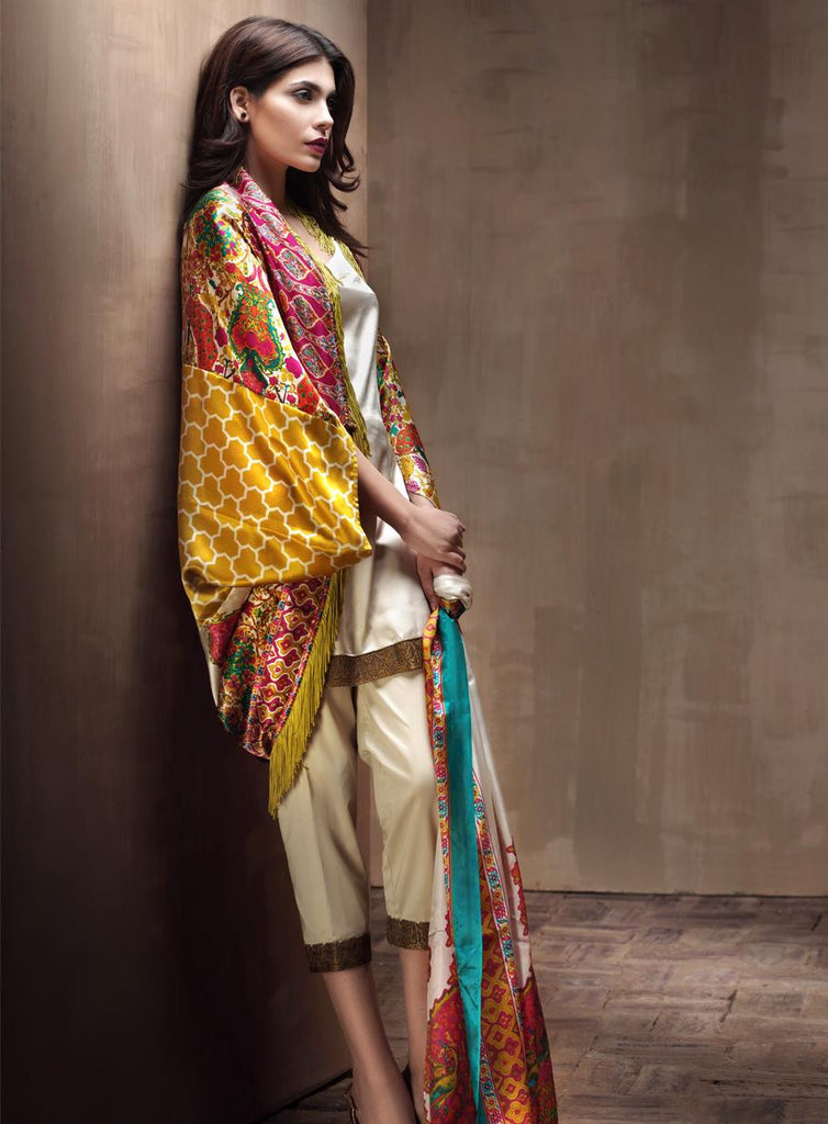 3A - Sana Safinaz Silk Collection 2015 - YourLibaas