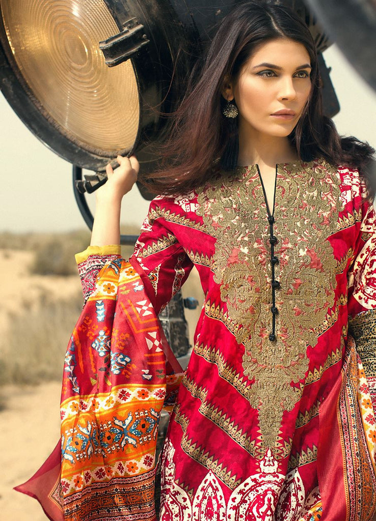 Sana Safinaz Spring/Summer Lawn Collection 2016 – 03A