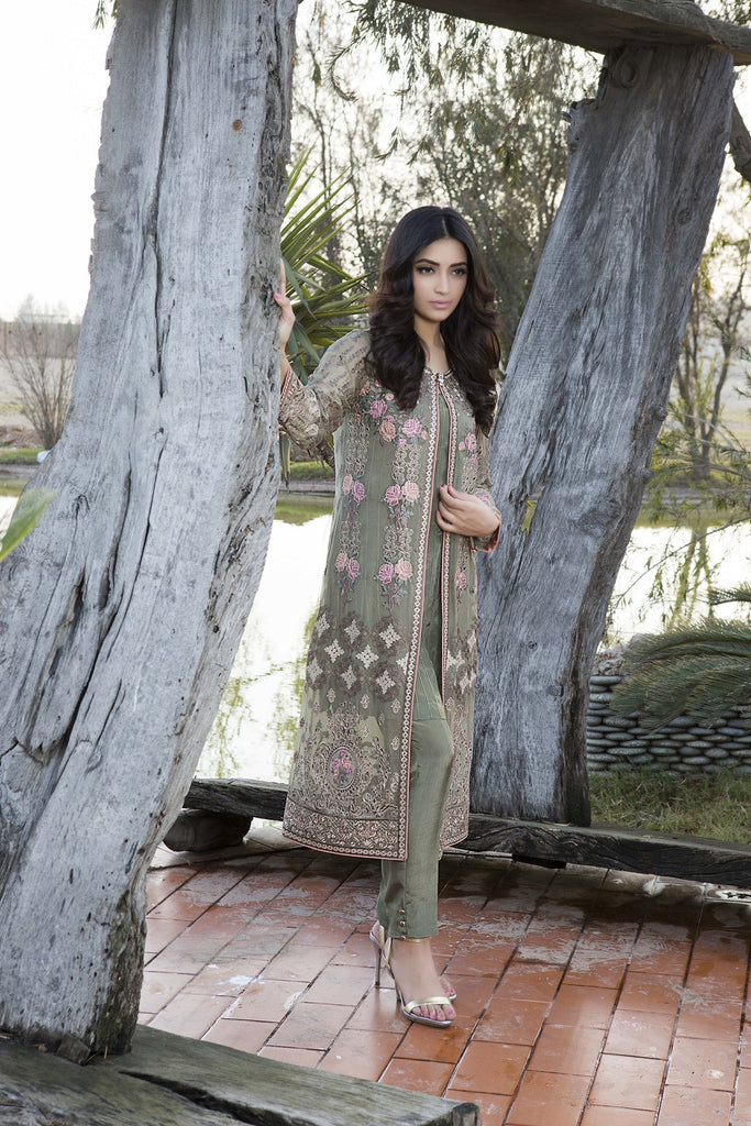 Baroque Luxury Chiffon Embroidered Collection Vol 3 – Captivating Splendor - YourLibaas  - 1