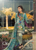 Ombre Lawn Collection 2018 – Teal Grace