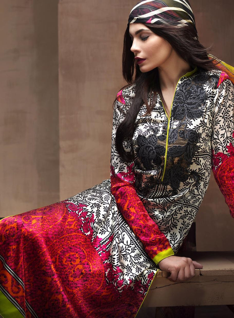 6A - Sana Safinaz Silk Collection 2015 - YourLibaas