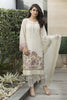 Baroque Luxury Chiffon Embroidered Collection Vol 3 – White Luxe - YourLibaas  - 2