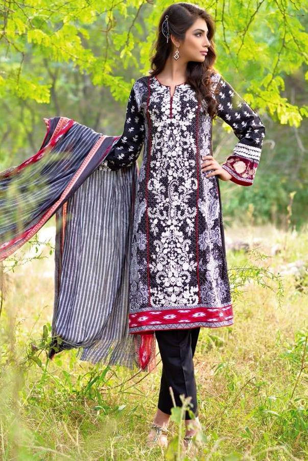 Noor Jahan Linen Collection - 06 - YourLibaas  - 1