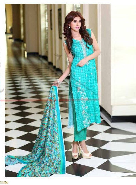 Lala Classic Embroidered - CCE-06B - YourLibaas