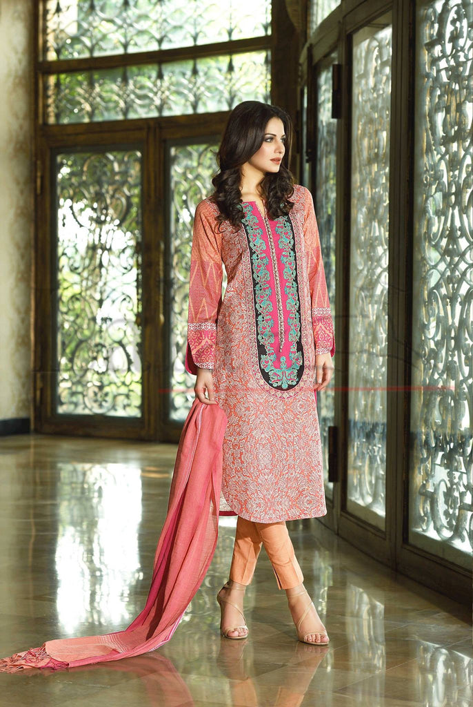 Lala Brocade Winter Collection With Woolen Shawl - 07 - YourLibaas