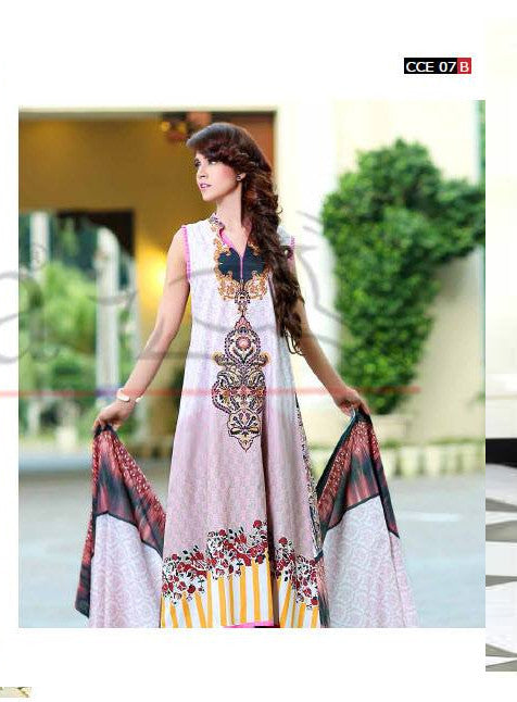 Lala Classic Embroidered - CCE-07B - YourLibaas  - 1