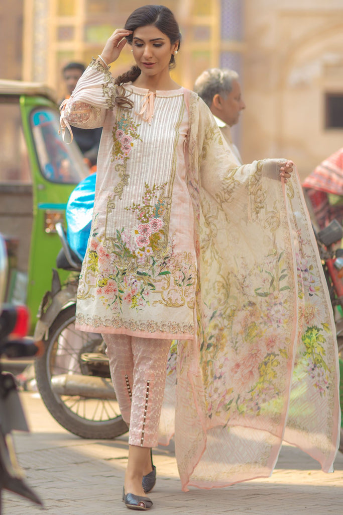 Firdous Spring/Summer Lawn Collection 2018 – EXC 18-08