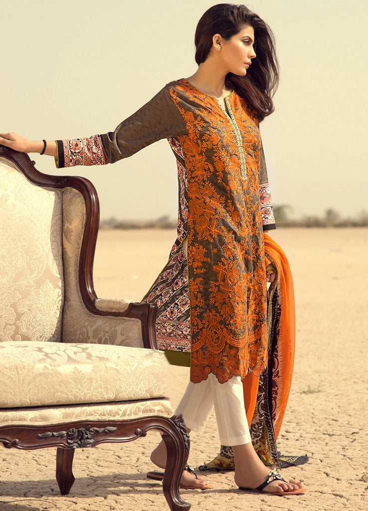 Sana Safinaz Spring/Summer Lawn Collection 2016 – 08A - YourLibaas  - 1