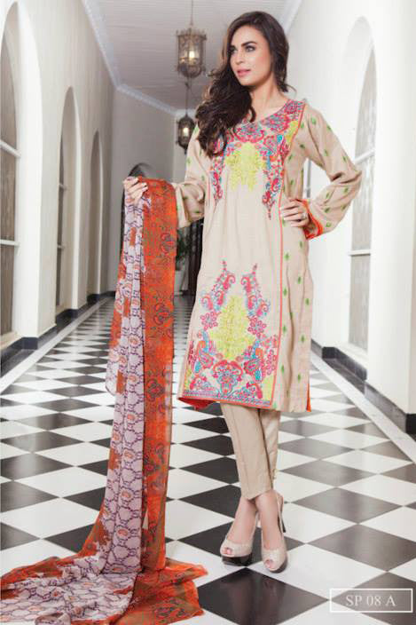 Charizma Nation Linen Collection 2015 - SP08A - YourLibaas  - 1