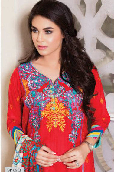 Charizma Nation Linen Collection 2015 - SP08B - YourLibaas  - 1
