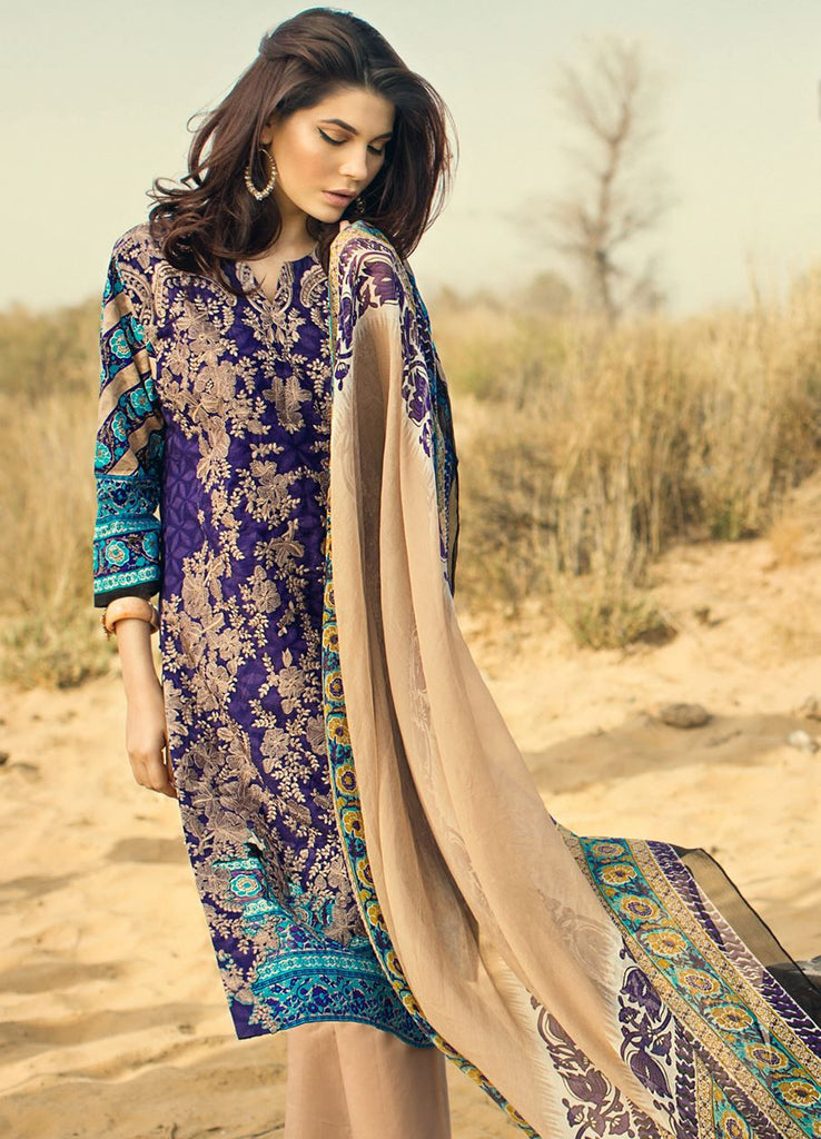 Sana Safinaz Spring/Summer Lawn Collection 2016 – 08B - YourLibaas  - 1
