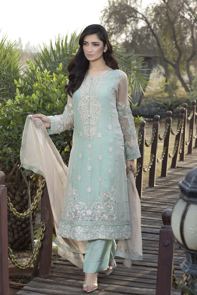 Baroque Luxury Chiffon Embroidered Collection Vol 3 – Mystical Dream - YourLibaas  - 1