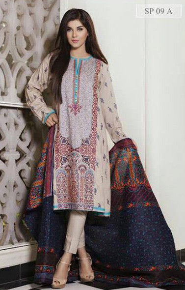 Charizma Nation Linen Collection 2015 - SP09A - YourLibaas  - 1