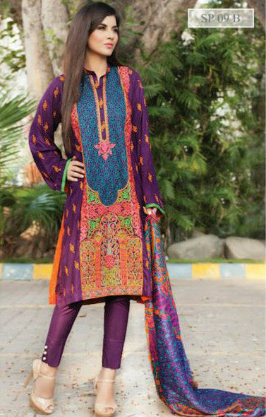 Charizma Nation Linen Collection 2015 - SP09B - YourLibaas  - 1