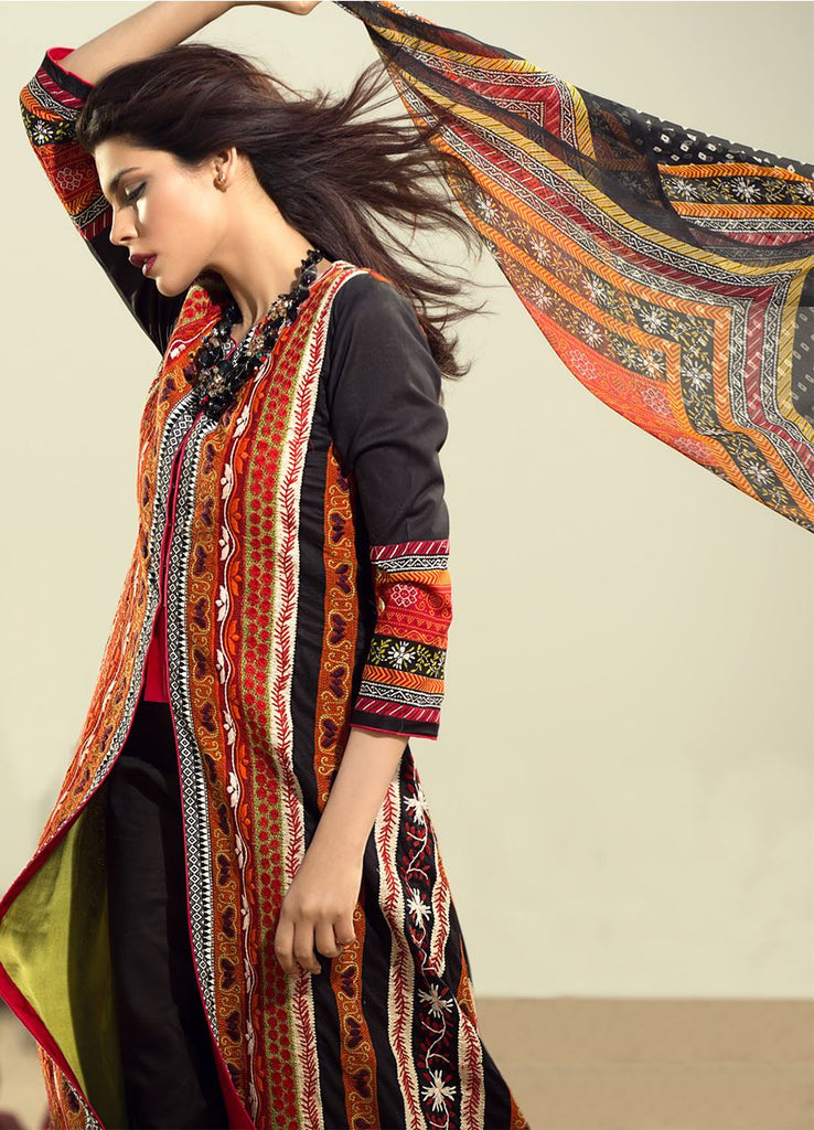 Sana Safinaz Spring/Summer Lawn Collection 2016 – 09B - YourLibaas  - 1