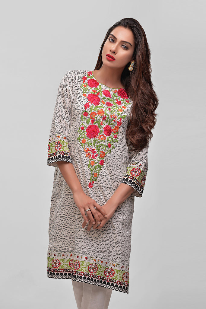 AUJ Lawn Collection 2016 Vol 1 – Design 9 - YourLibaas  - 1