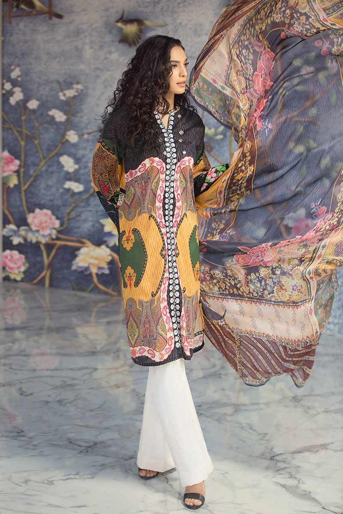 Gul Ahmed Summer Premium Collection 2019 – 3 PC BM-104
