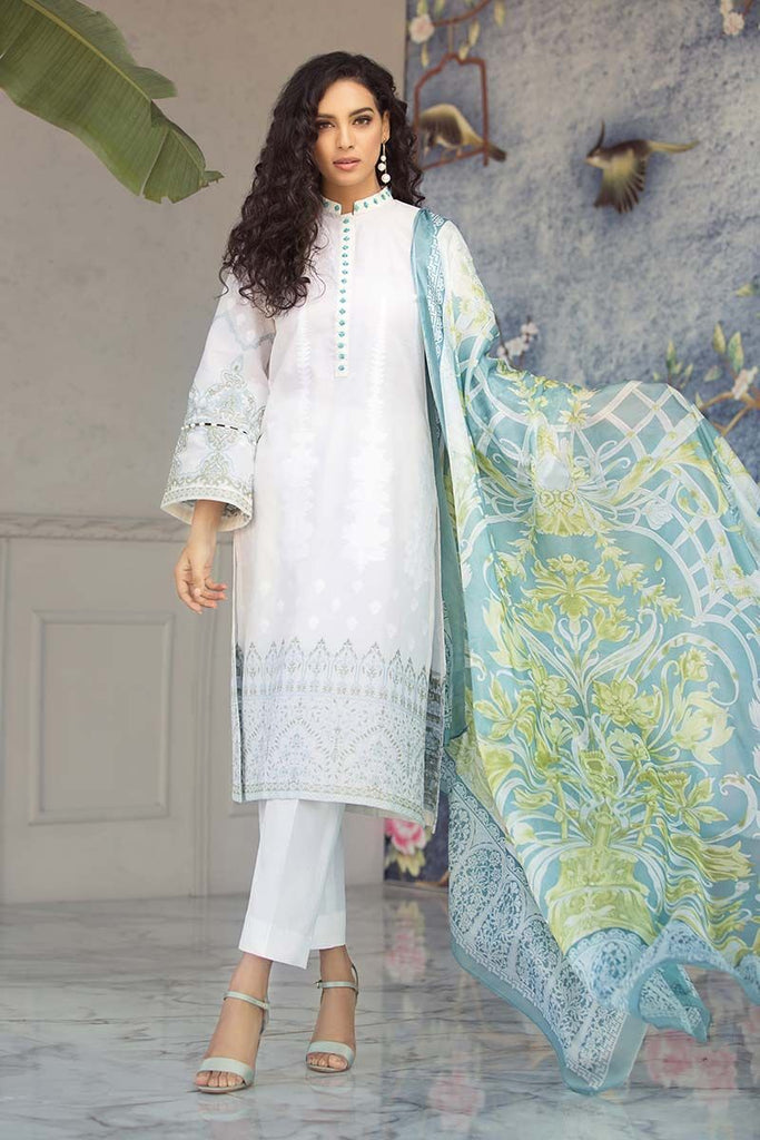 Gul Ahmed Summer Premium Collection 2019 – 3 PC SS-184