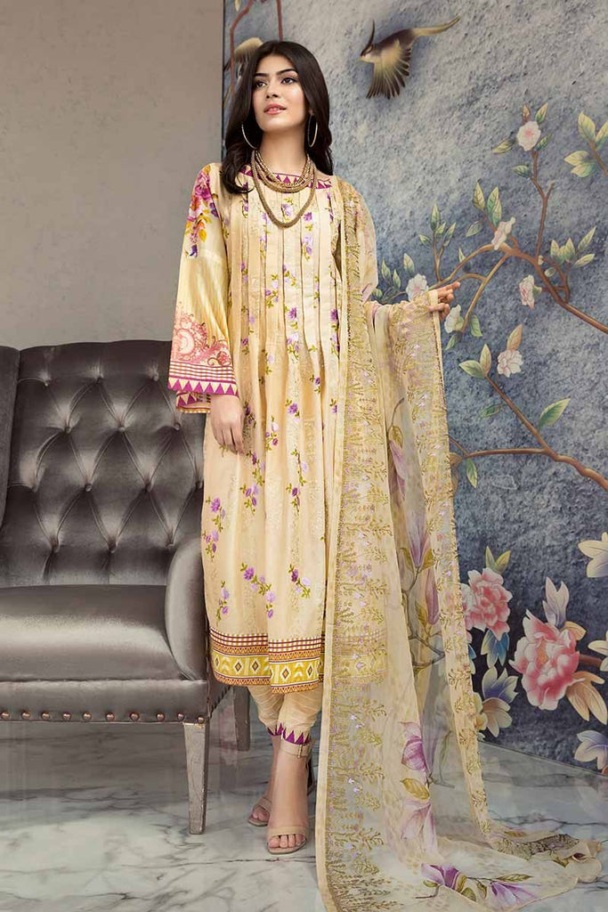 Gul Ahmed Summer Premium Collection 2019 – 3 PC BCT-10