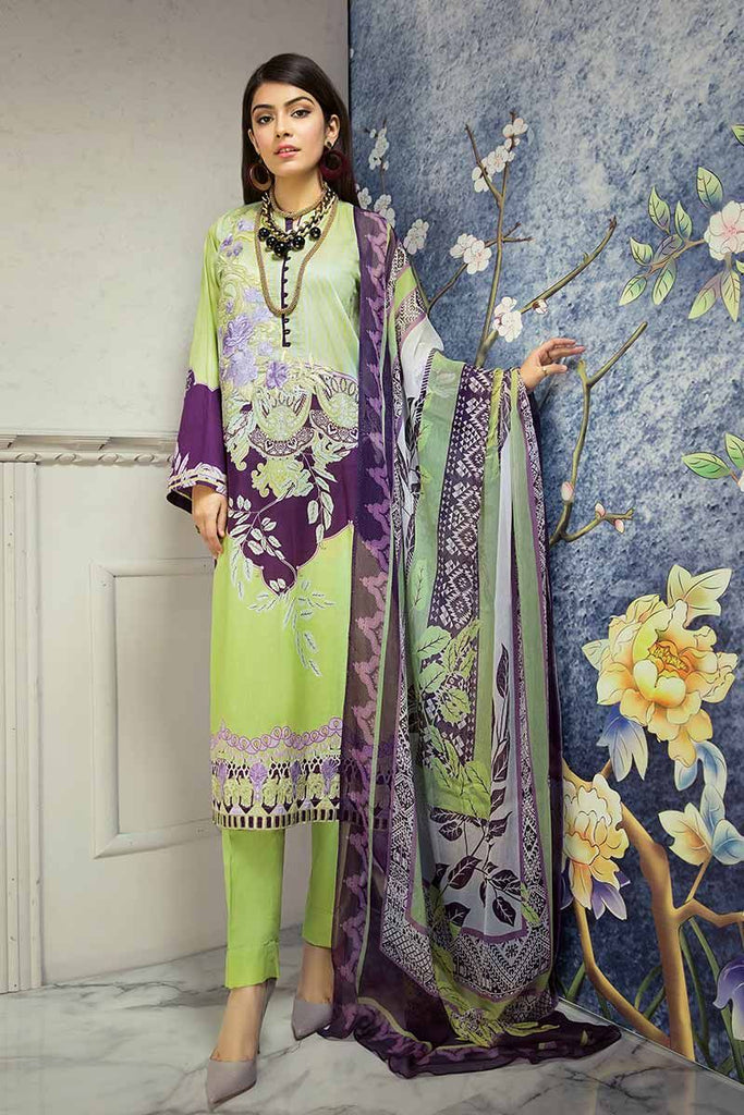 Gul Ahmed Summer Premium Collection 2019 – 3 PC BM-105