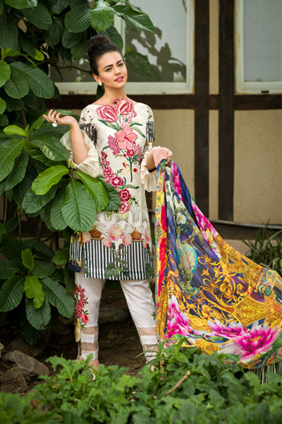 Asifa & Nabeel Eid Lawn Collection 2018 – Chapter: 2B – Dream the Hues