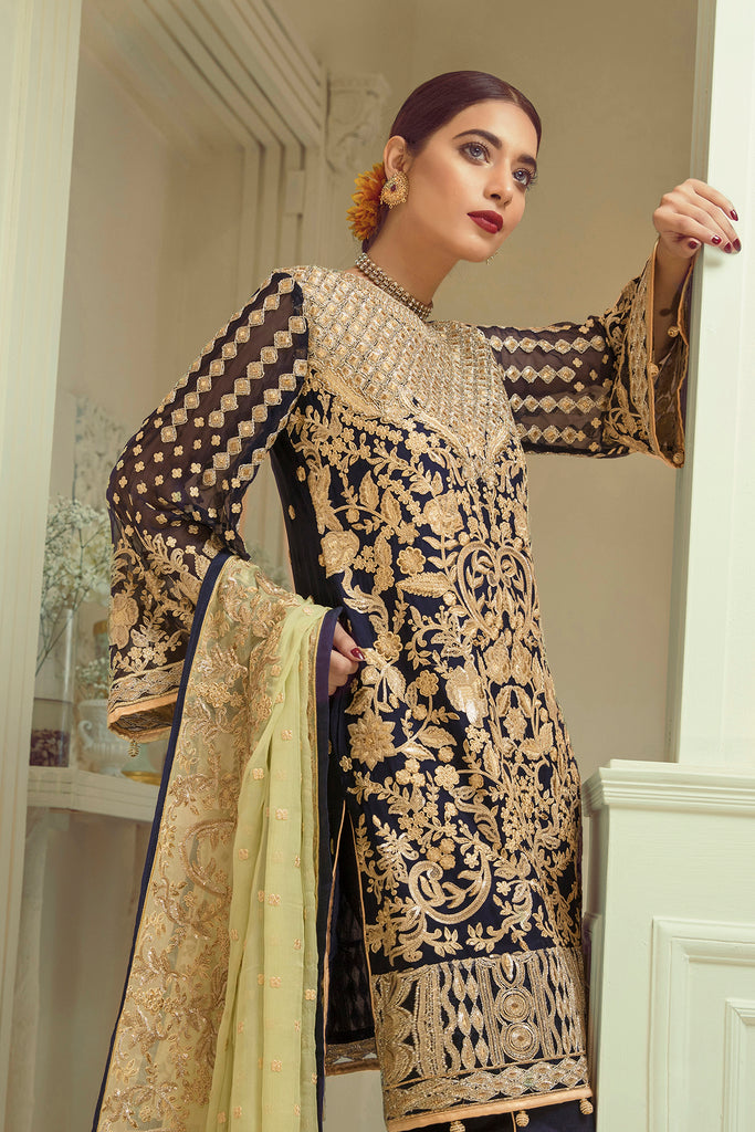 Elaf Premium Chiffon Collection 2019 – EL01 Royal Emporium