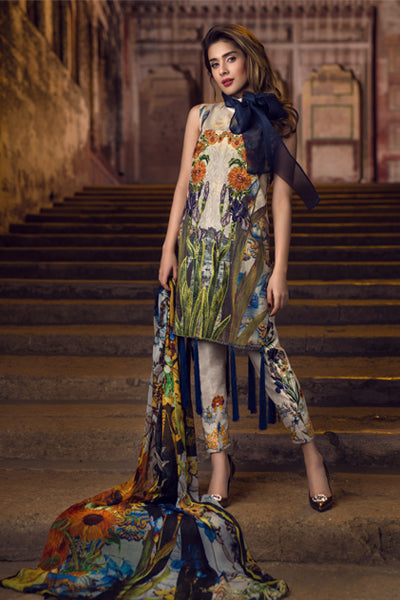 Asifa & Nabeel Spring/Summer Tourist Lawn 2018 – Chapter: 6 – Singing Fields