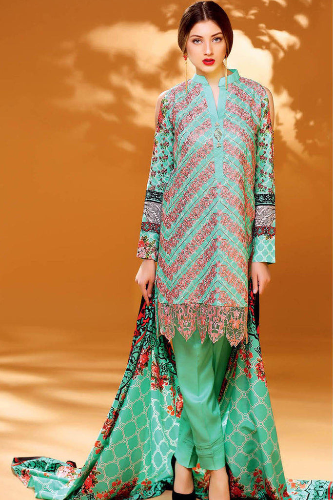 Ayesha Chottani Winter Collection – 10A - YourLibaas  - 1