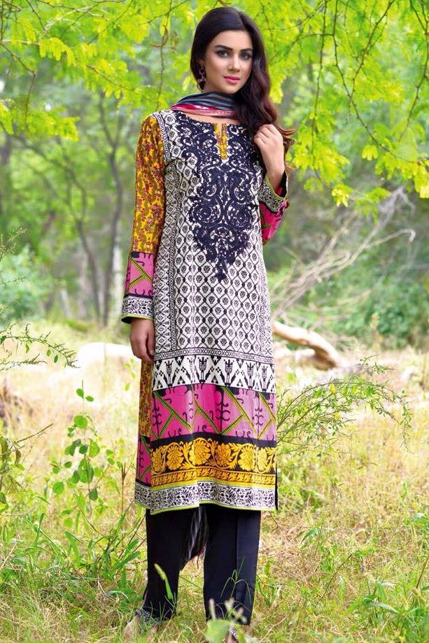 Noor Jahan Linen Collection - 10 - YourLibaas  - 1