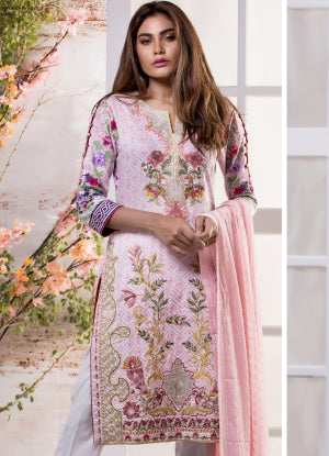 Sahil Designer Embroidered Eid Collection 2018 Vol 7 – SH7-10A