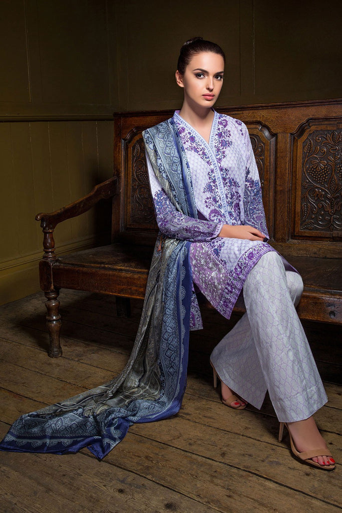 Sobia Nazir Lawn Collection '16 – 10A - YourLibaas  - 1