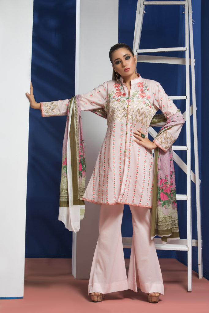 Sahil Designer Embroidered Lawn Collection Vol 6 – SH6-10A