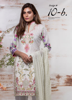 Sahil Designer Embroidered Eid Collection 2018 Vol 7 – SH7-10B