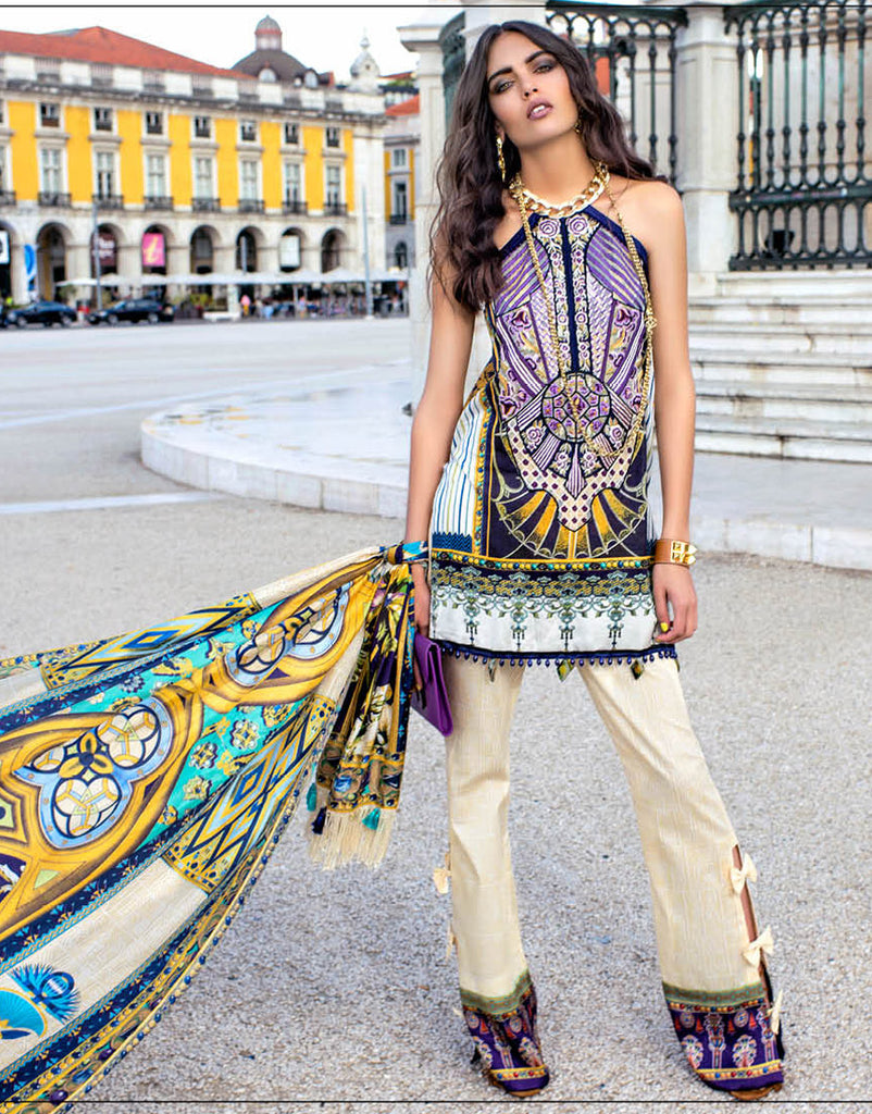 Shehla Chatoor Luxury Lawn Collection – 10-B
