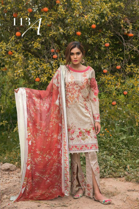 Florence by Rang Rasiya Embroidered Lawn Collection Vol-1 – Design-113A