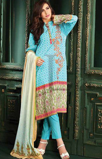11A - Lala Classic Cotton Embroidery Vol 2 - YourLibaas  - 1